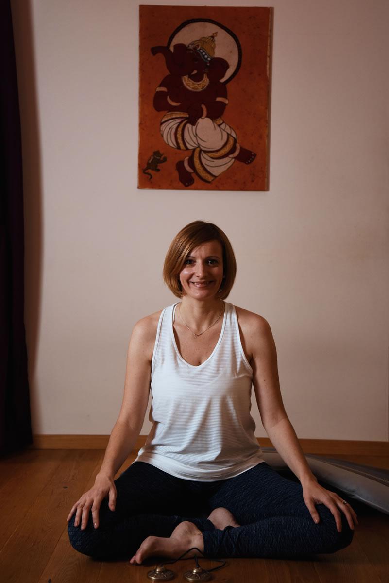 Audrey posture yoga